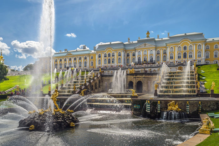 Peterhof, Image Credit: Alex Florstein Fedorov, Wikimedia Commons